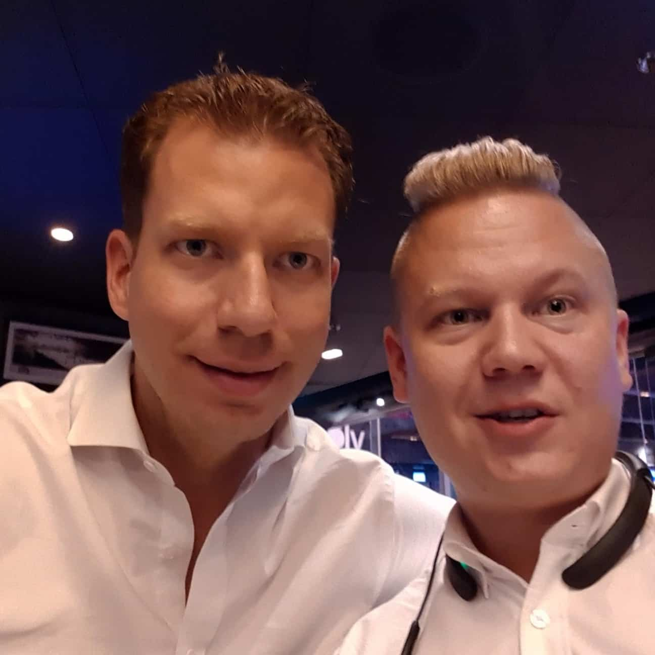 Rock Your Day Janne Immonen and JT Foxx