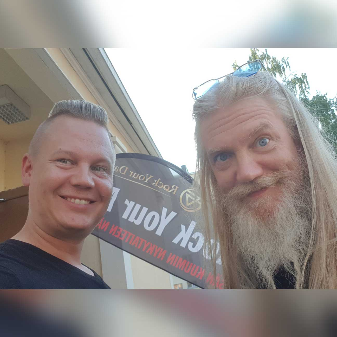 Rock Your Day Janne Immonen and Marco Hietala